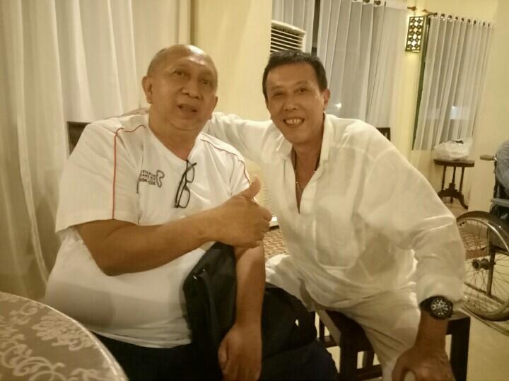 Ismail Johan dan Rio Sarwono, pernah jadi pasangan pereli dan navigator di ajang reli. (foto : bs)