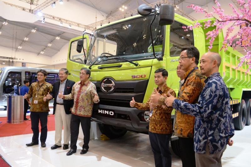 Salah satunya di ajang GIIAS 2019 dimana Hino Truck akan mnghadirkan beberapa model percontohan dan beberapa model improvement. (anto).