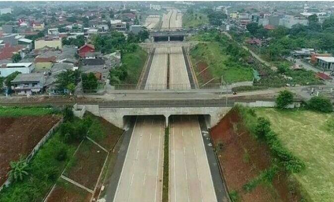 Tol Cijago seksi 2 mulai dibuka hari ini secara fungsional untuk membantu mudik Lebaran wilayah Jawa Barat