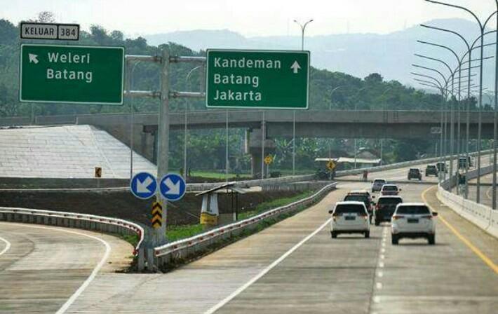 Kebijakan sistem satu arah dari Cikampek Utama - Kalikangkung Semarang terbukti efektif hingga Senin 3 Juni 2019