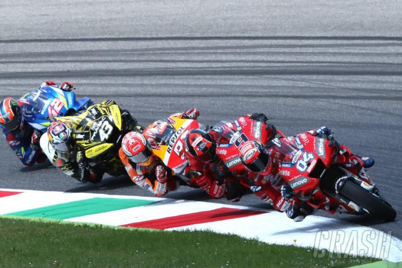 Andrea Dovizioso memimpin di lap-lap awal MotoGP Italia, Sirkuit Mugello
