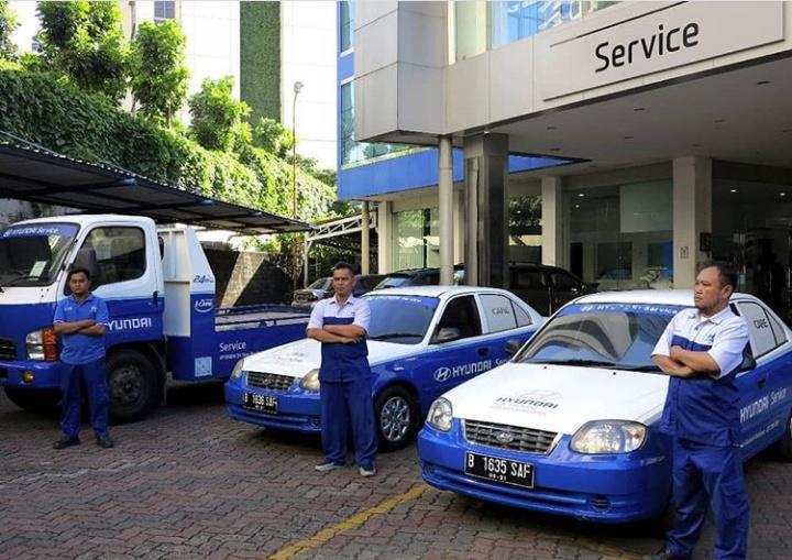 Bagi pemilik kendaraan Hyundai yang membutuhkan bantuan (emergency) dapat menghubungi Hyundai Call Center dengan nomor 0800-182-1407. (hyundaiid)
