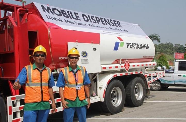 Pada arus mudik juga mengirimkan Mobil Tangki bantuan untuk operasional di Terminal BBM Tanjung Gerem sebanyak 5 unit dan untuk Terminal BBM Cikampek sebanyak 15 unit. (Pertamina)
