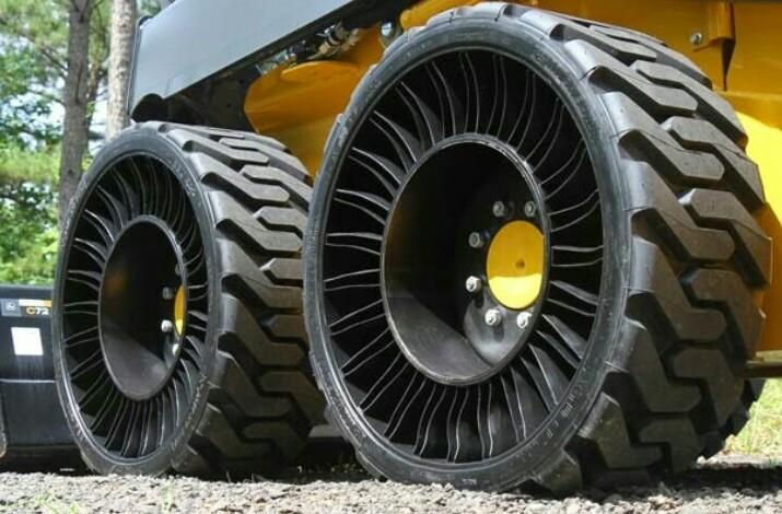 Ban anti angin dan anti kempes yang dikembangkan Michelin