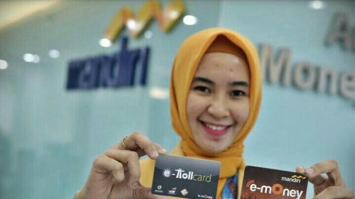 E-toll Mandiri paling mudah diakses untuk transaksi di jalan tol seluruh Indonesia
