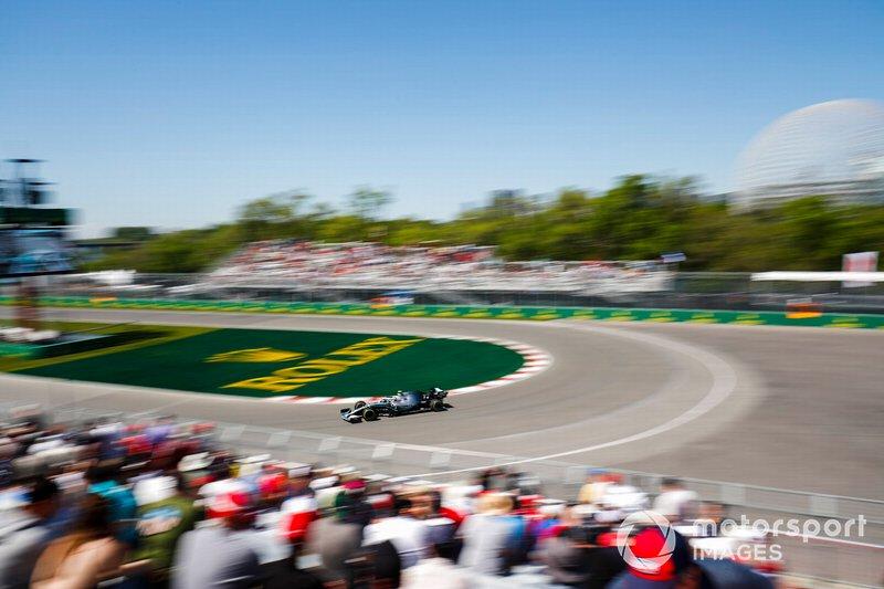 Hamilton kecelakaan di FP2 Kanada, Leclec Tercepat