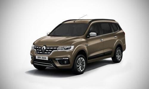 Rendering Renault Triber yang sedang dikembangkan di India. (Indianautosblog / SRK designs)