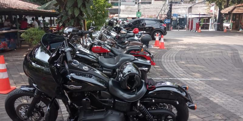 Kopdar Eight Demons MC di Warung Solo, Jeruk Purut, Jakarta Selatan