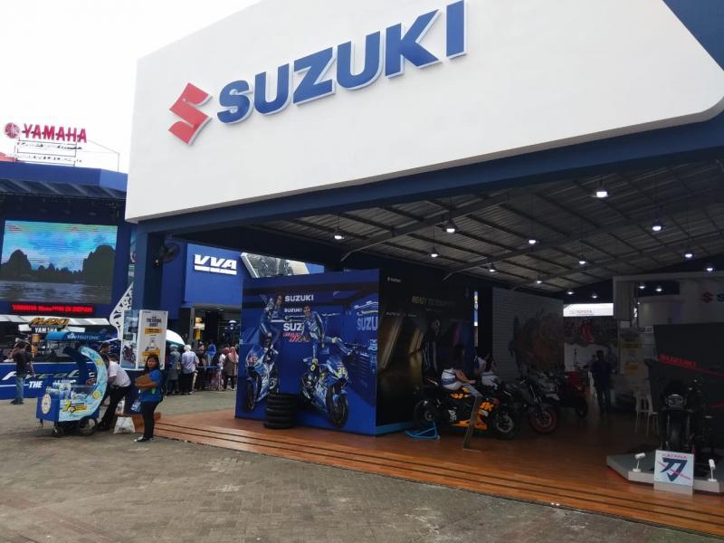 Merek-merek roda dua jor-joran di Jakarta Fair 2019. Buruan, masih ada waktu dapatkan diskonnya. (anto)