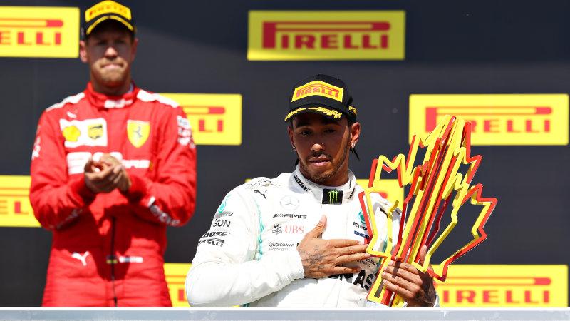 Lewis Hamilton nyaman di puncak klasemen sementara F1 usai memenangi seri F1 Grand Prix Kanada (ist)