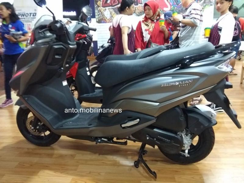 Jika jadi dipasarkan di Indonesia, Burgman Street akan bersain dengan Yamaha Lexi dan Honda Vario yang juga berkapasitas mesin 125 cc. (anto)