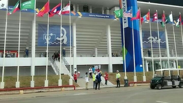 Kawasan Aquatic Centre Senayan Jakarta akan jadi venue putaran pembuka Kejurnas Slalom U23. (foto : ist)