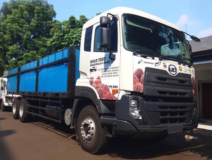 Uji jalan ini mendapat dukungan dari dealer Astra UD Trucks cabang Bandung dan Cirebon. (astraudtrucks)