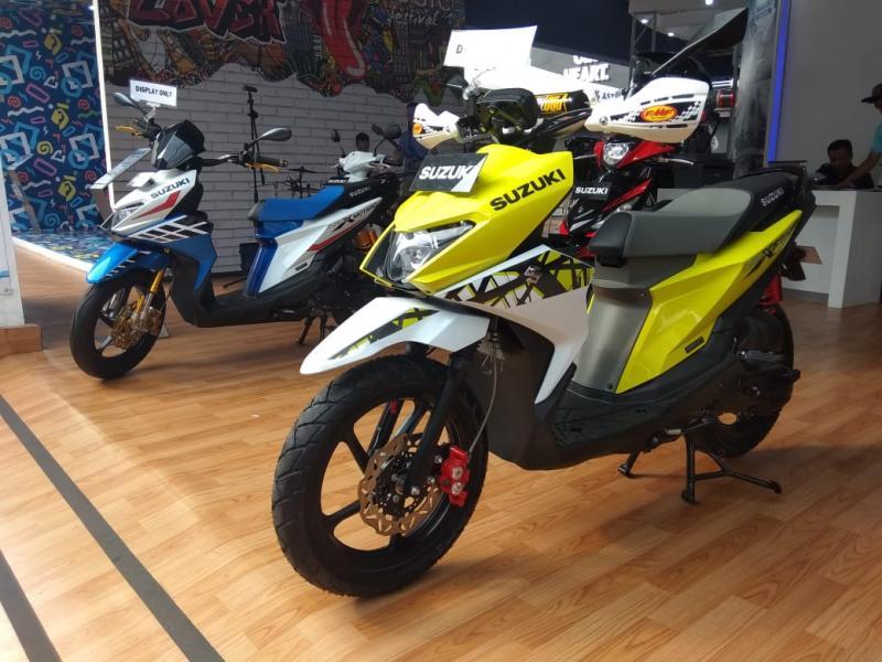 Diharapkan dengan hadirnya dua konsep modifikasi ini bisa menginspirasi para pemilik dan calon konsumen Suzuki Nex II. (anto)