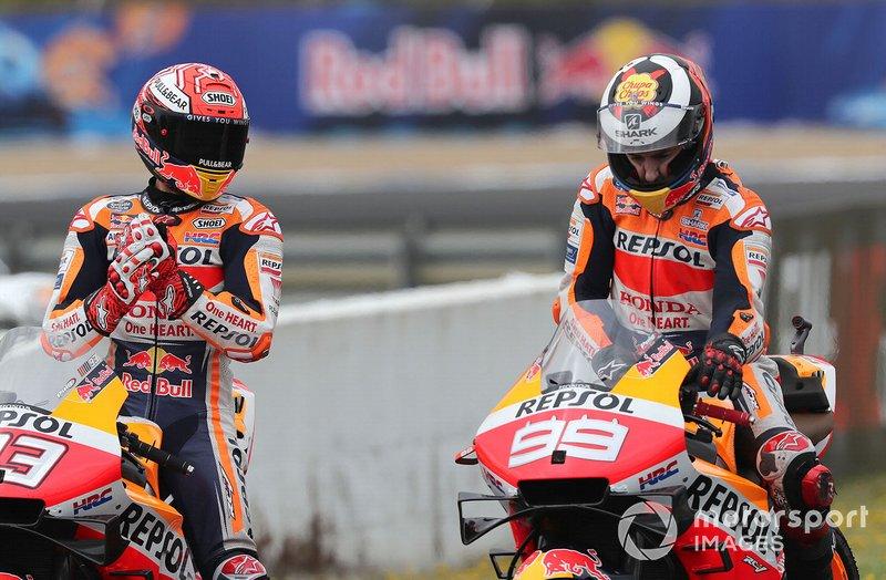 Marc Marquez terdepan membela Lorenzo menysul insiden Catalunya (ist)