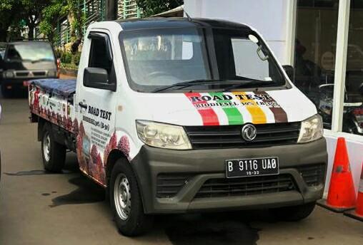 DFSK Super Cab ikut road test solar B30 yang dihelat Kementerian ESDM