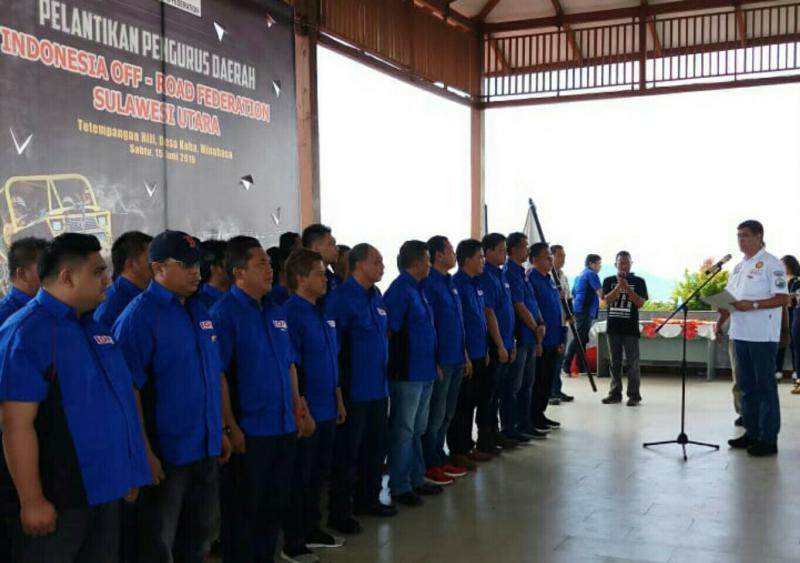 Inilah Pengda IOF Sulut yang kelima sejak pertama berdiri. (foto : Ha eR)
