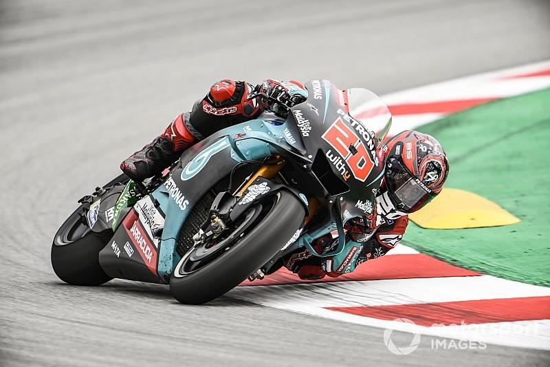 Fabio Quartararo raih pole position di MotoGP Catalunya 2019 (ist)