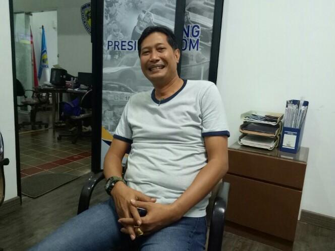 Donny Mahardjono, ingatkan teman-teman Pengprov IMI siapkan diri hadapi Pra PON bulan September. (foto : bs)