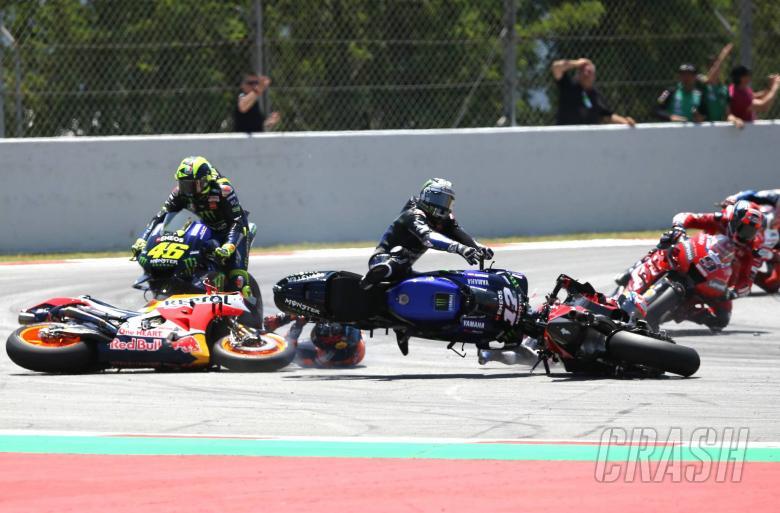 Jorge Lorenzo jadi biang kerok kegagalan tiga rider unggulan di seri Catalunya (ist)