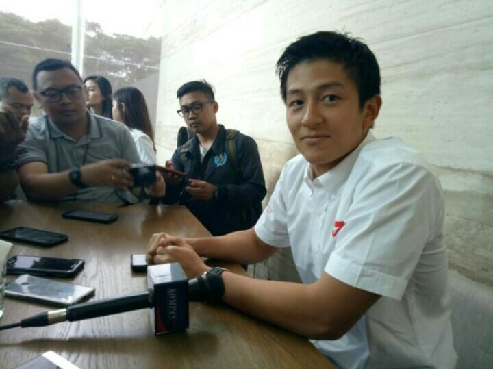 Rio Haryanto berlatih gokart untuk hadapi Blancpain GT World Challenge Asia round 3 di Suzuka, Jepang
