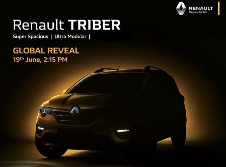 Renault Triber mengusung platform mini SUV Renault Kwid yang sudah dimodifikasi menjadi Low MPV tujuh penumpang.