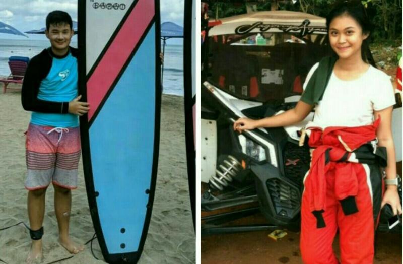 FerrIl Sucahyono dan Canya Prasetyo, akan meramaikan Kejurnas Slalom U23. (foto : kolase)