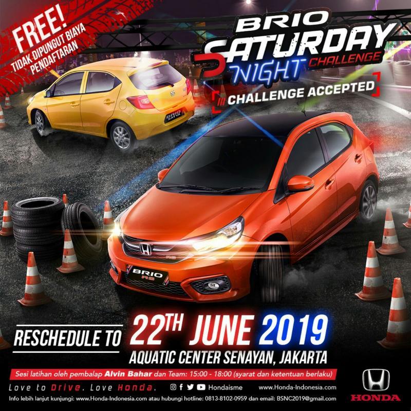 Pemilik Honda Brio silakan datang, mendaftar (gratis) dan rebut hadiah Rp 50 juta