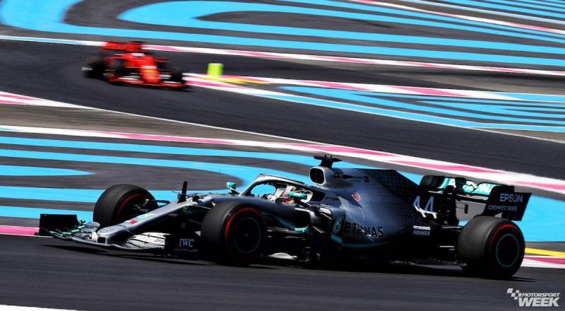 Lewis Hamilton (Mercedes), tunggu duel verusCharles  Leclrec (Ferrari) di Sirkuit Paul Ricard). (Foto: motorsportweek)