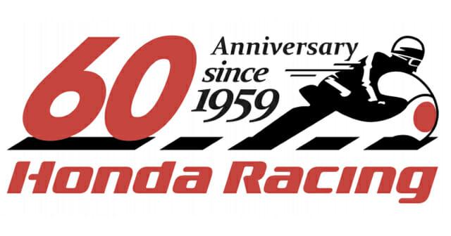 Logo parayaan 60 Tahun kiprah Honda di balap motor dunia. (Foto: HRC)