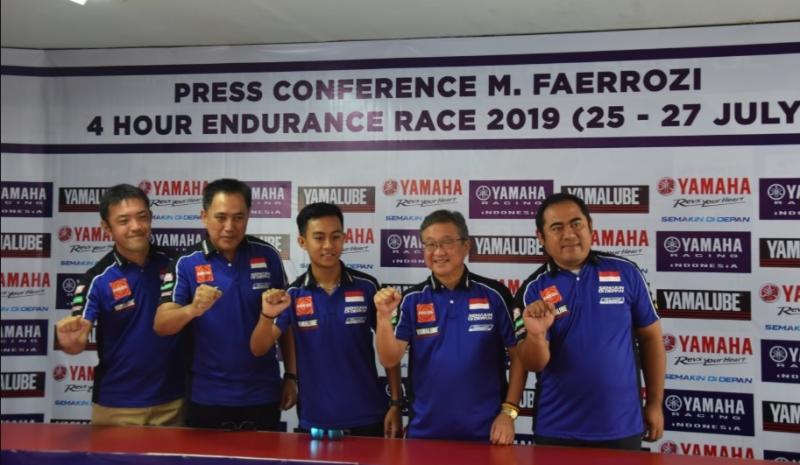 Muhammad Faerozi wakili Indonesia di ajang Suzuka 4hours Endurance Road Racing (ST600) pada 27 Juli mendatang