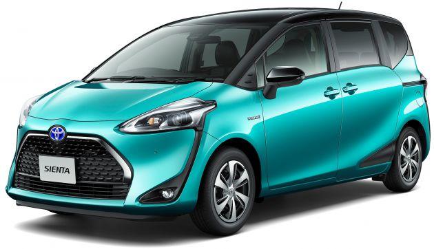 Toyota Sienta Hybrid kemungkinan besar meluncur di GIIAS 2019 (ist)