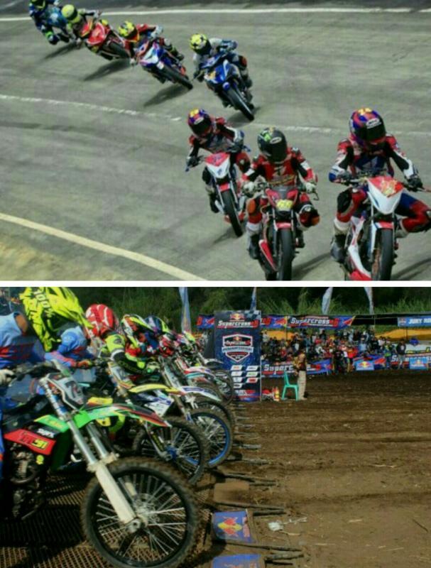 Cabor balap motor & motocross yang akan diperlombakan di PON Papua 2019. (foto : kolase)