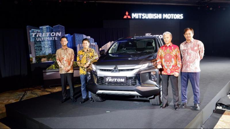 Mitsubishi New Triton baru bisa dipesan pada ajang GIIAS 2019