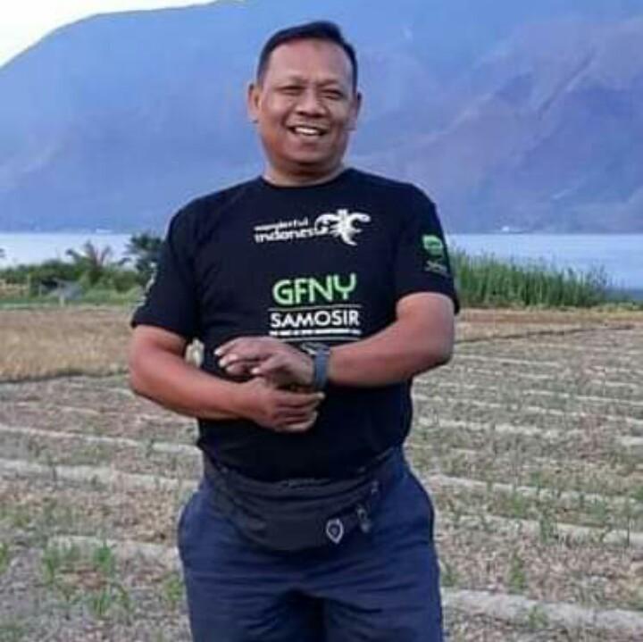 Almarhum Aswin Hutajulu, periang & selalu memberi motivasi kepada pereli junior. (foto : ist)