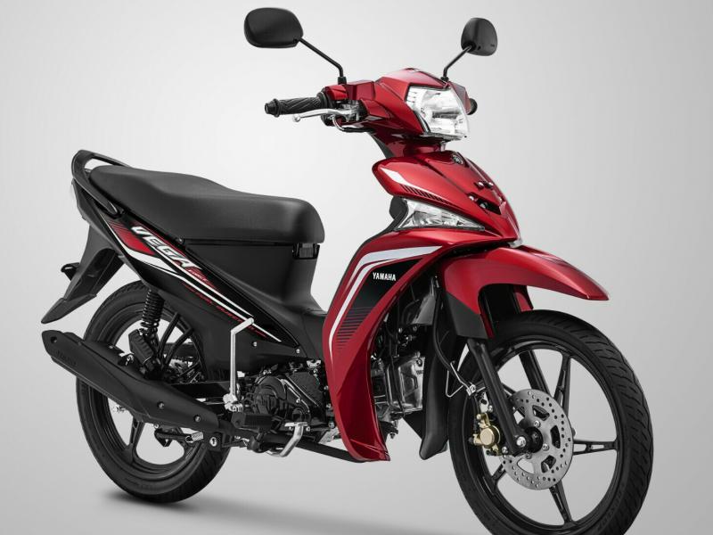 Yamaha Vega Force dengan kelir baru semakin sporty