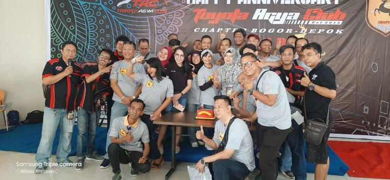 Anniversary ke-4 TAC Chapter Bogor Depok berlangsung meriah