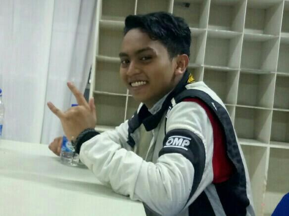 Zharfan Rahmadi andalan tim Banteng Motorsport siap kembali juara HJSC. (foto : bs)