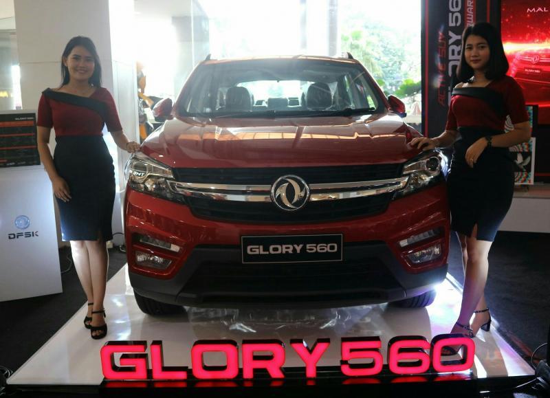 Pembukaan dealer & launching DFSK Glory 560 di Lampung