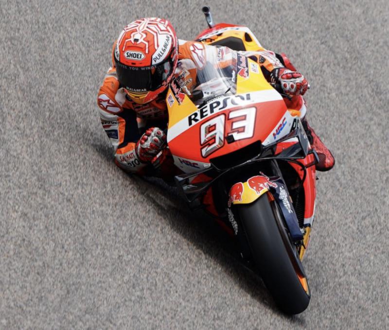 Marc Marquez (Repsol Honda) perkokoh status tak terkalahkan di Sachsenring. (Foto: visordown)