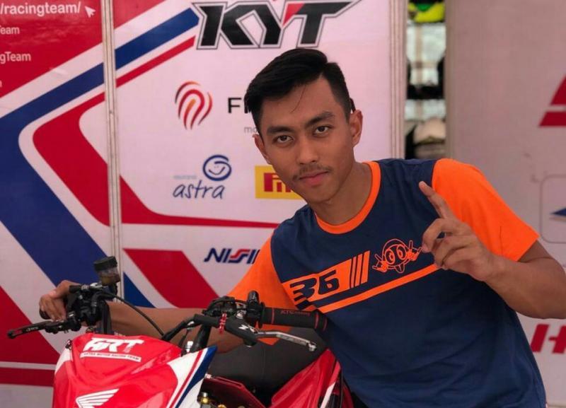 Afridzsayah Munandar, juara Oneprix putaran 1 di sirkuit Bukit Puesar Tasikmalaya