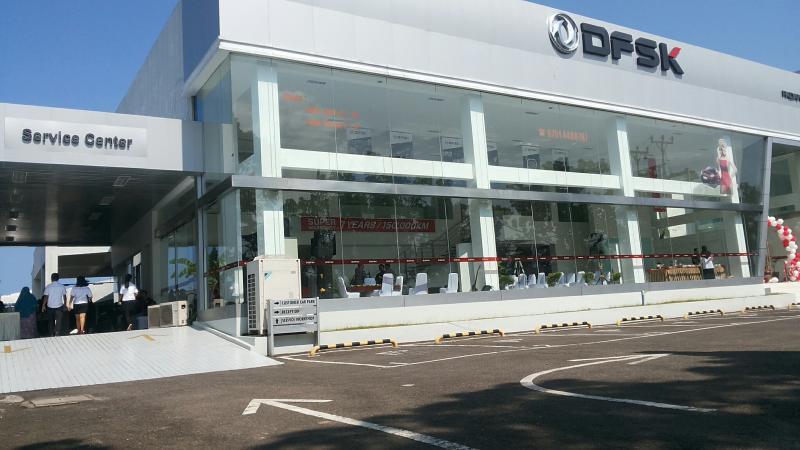 Dealer DFSK Padang di bawah bendera PT Lintang Benua. (foto : ende)