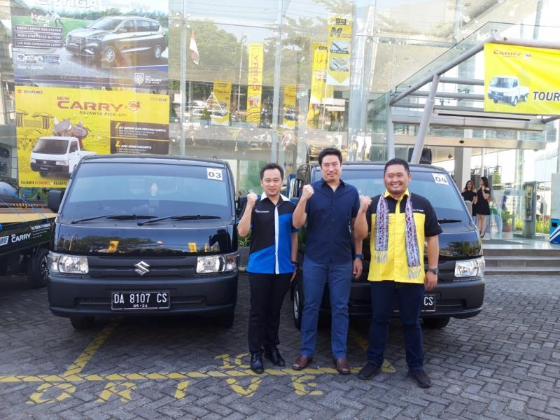 Media test drive Suzuki New Carry Pick Up digelar di Banjarmasin