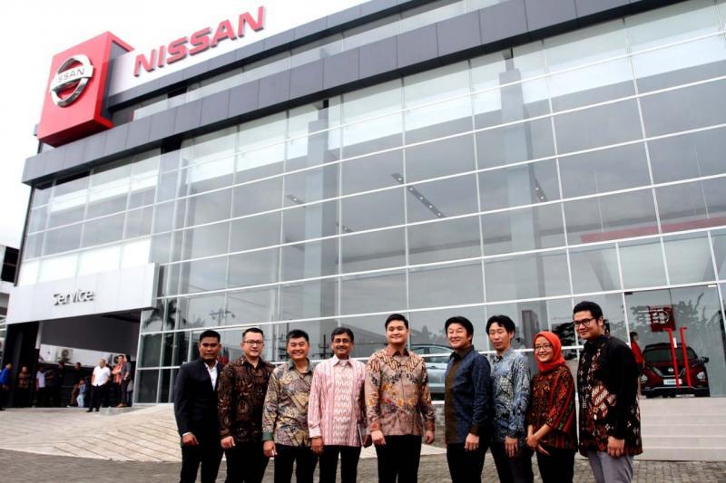 Outlet SM Raja telah mengadopsi Nissan Retail Concept, yang merupakan standar ritel global Nissan dalam memastikan dan memberikan pengalaman pelanggan yang lebih baik.(ist)