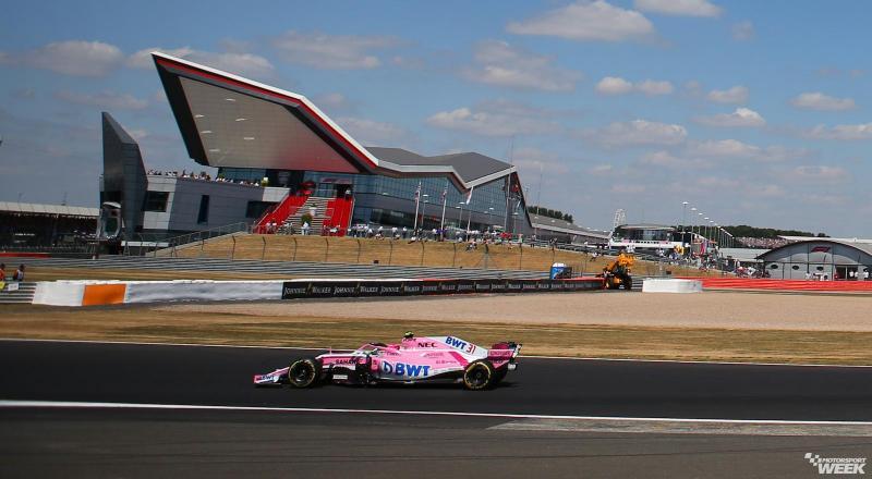 Trek lurus Sirkuit Silverstone, hanya 2 DRS tahun ini. (Foto: motosportweek)