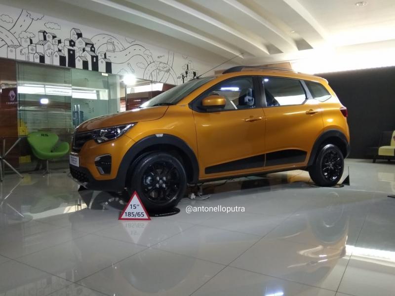 Renault Triber, semoga harganya kompetitif. (anto)