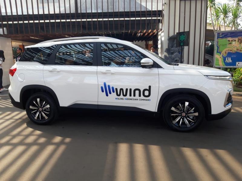 Teknologi WIND saat ini hanya teraplikasikan di Almaz 7 Seater