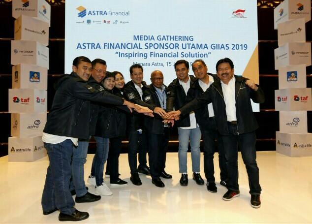 6 lembaga jasa keuangan Astra Financial siap gelontorkan program menarik di GIIAS 2019