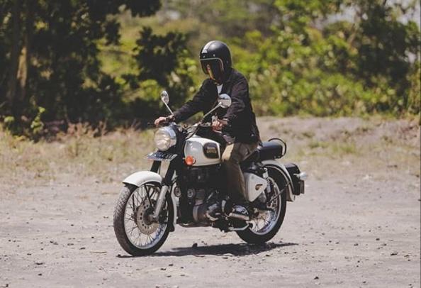 Royal Enfield adalah sepeda motor dengan desain sederhana yang memberikan kenyamanan sempurna bagi pengendara.(ist / royalenfieldid)