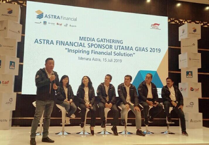 Gunawan Salim selaku Project Director GIIAS Astra Financial.  (foto : bs)